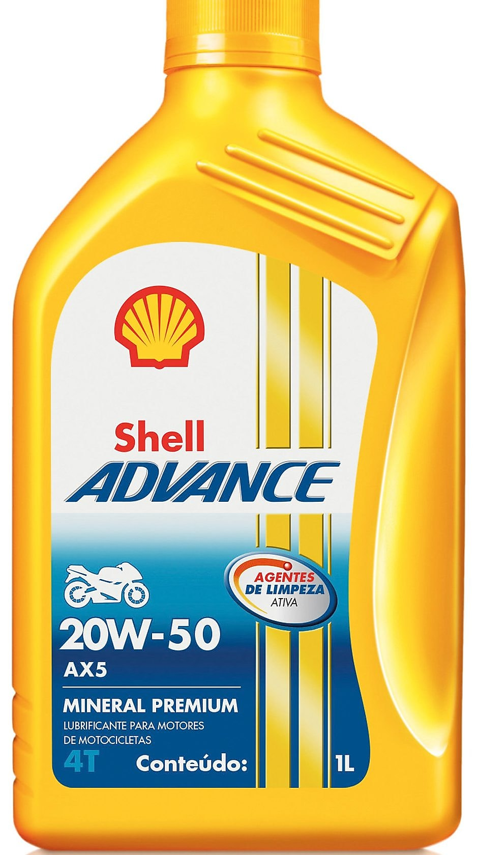 Shell Advance AX5 packshot